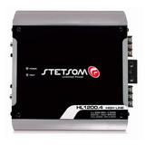 Módulo Amplificador Stetsom Hl1200.4 1200w 4 Canais - 300w