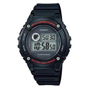Reloj Casio Classic W216h2bvcf Time Square