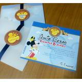 Mickey Mouse Príncipe ::: Tarjeta De Invitación