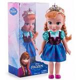 Frozen Muñeca Anna 33 Cm Toddler Nenas Disney Educando
