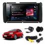 Kit Central Multimidia Toyota Etios + Camera + Moldura 2 Din