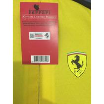 Mochila Ferrari Shell Original Vermelha Ou Amarela