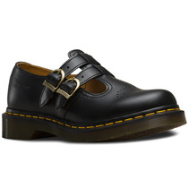 Zapato Dama 8065 Mary Jane Black Smooth Mujer Dr Martens