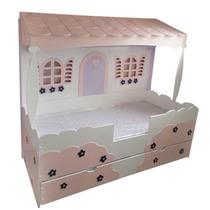 Cama Infantil De Casinha Personalizada - 150x70