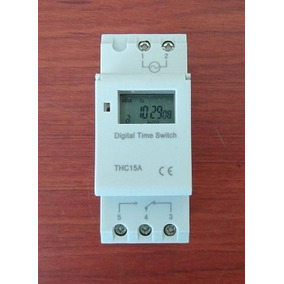 Timer Electronico Programable Thc15a 120 Volts Ac