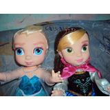 Princesas Disney Anna O Elsa D Frozen Muñecas Grandes