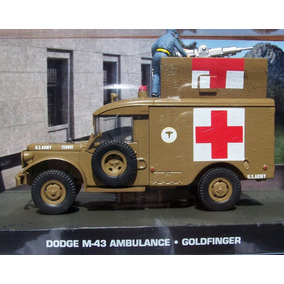 Miniatura Dodge Ambulancia James Bond Collection - Novo !