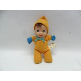 Boneca Fofolete De 1999 Amarela Com Azul.
