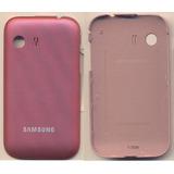 Tampa Bateria Samsung S5360 Galaxy Y Pink Original