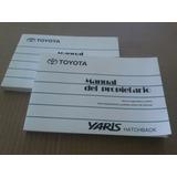 Manual Propietario Toyota New Yaris