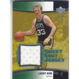 2004-05 Ud Sweet Shot Game Used Jersey Larry Bird Celtics