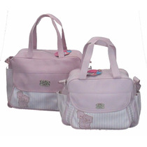 Bolsa Mala Saída Maternidade Kit Bebê Promoção 1314p Rosa