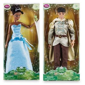 Princesa Tiana + Principe Naveen - Original Disney Store