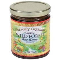 Heavenly Organics Orgánica Salvaje Bosque Miel Cruda No Clim