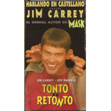 Tonto Y Retonto Jim Carey Jeff Daniels Castellano Vhs Nuevo!