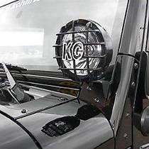 Bases Laterales Porta Faros Para Jeep Wrangler 2007-2016