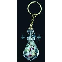 Llavero Angel De Cristal, Bautizo. 10 Piezas $220.00