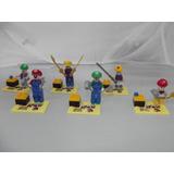 Figuras Compatibles Con Lego De Super Mario Bros 6 Pzas