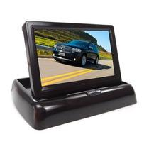 Monitor Automotivo Lcd Tft Veicular Tela 4.3 Dvd Retratil