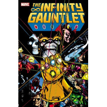 Libro Marvel: Infinity Gauntlet (guante Infinito) Pb Ing *sk