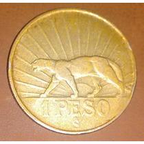 Moeda Uruguai 1 Peso 1942 M27