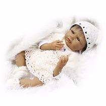 Bebê Reborn Débora Negra - Pronta Entrega