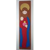 Santos Y Virgenes En Madera Corazon De Jesus Y Mas