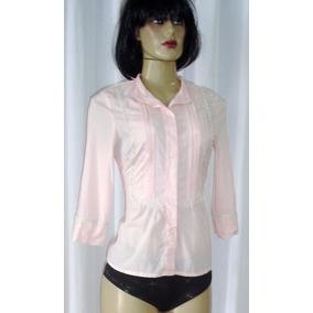 Camisa Social Feminina Tam. P 100% Algodão Rp
