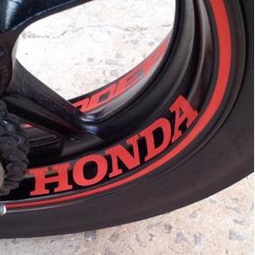 Adesivo Friso Refletivo + 8 Internos Roda Moto Honda Cb 300