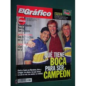 Revista El Grafico 4063 Ascenso San Miguel Canigia Maradona