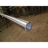 Tubo Acero Inoxidable 2 Pulgada (48mlm) Esp.1.5mlm Satinado