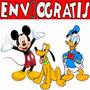 Kit Imprimible Mickey Donald Pluto Tarjetas Candy Invitacion