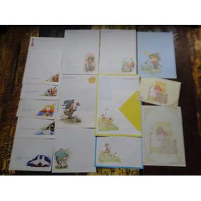 Coleção De 25 Papeis De Carta Anos 80