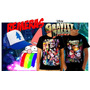 Remeras Y Gorras Gravity Falls, Estampas Full Color, Únicas!