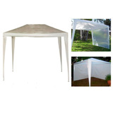 Gazebo 4 X 3 + 4 Paredes Laterales Combo 100 % Impermeable