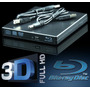 Gravador Blu-ray Externo Usb 3.0 3d Usb Cd Dvd Leitor Bluray