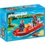 Playmobil 5559 Bote Inflable Con Exploradores- Minijuegosnet