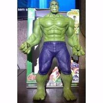 Boneco Articulado Avengers Capitão América, Hulk, Thor 30cm