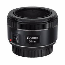 Lente Canon Ef 50mm F/1.8 Stm Motor Auto-foco 50 Mm
