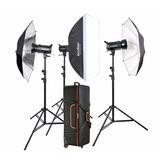 Kit Godox Sk400 D Estudio Fotografico