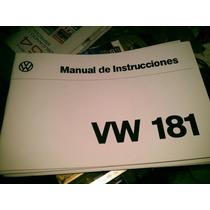 Manual Del Propietario Vw Safari 181