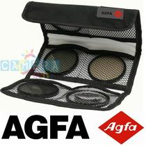 Agfa Kit 3 Filtros: Uv Cpl Warm Canon Rebel 58mm T2 T3 T4 T5
