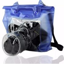 Capa Bag Estanque Prova Dágua Sony Nikon Canon Universal