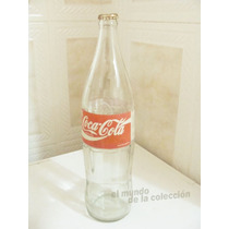 Botella Coca Cola Coke 1litro. Vidrio Vacia (variante 2)