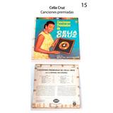 Acetatos Vinilo Lp Disco Celia Cruz- Canciones Premiadas