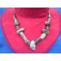 Antiguo Collar Tipo Prehispanico Jade