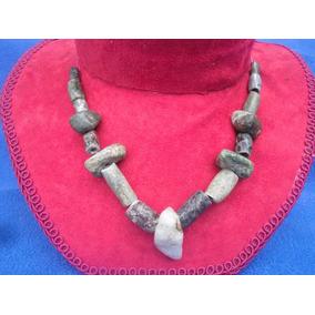 Antiguo Collar Tipo Prehispanico Jade