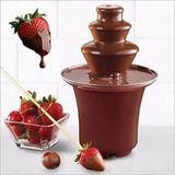 Fuente Chocolatera Pileta Chocolate Maquina Fondue Eventos