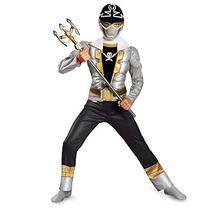 Disfraz Power Rangers Clásico Para Niño Talla S - Blanco