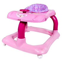 Andador P/ Bebê Rosa Princesa Disney Musical Styll Baby